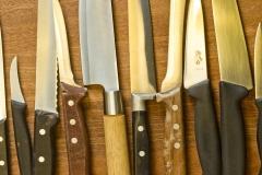 Forskellige knive